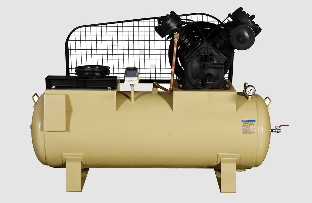 Hmp Two Stage Two Cylinder Air Compressors Rajkot