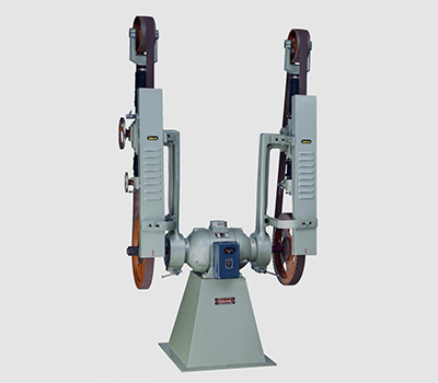DOUBLE SIDE ABRASIVE BELT GRINDING MACHINE-HMP