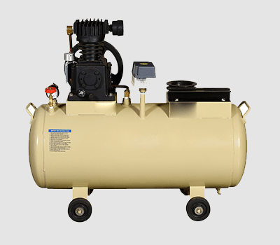 SINGLE STAGE TWO CYLINDER AIR COMPRESSOR-HMP