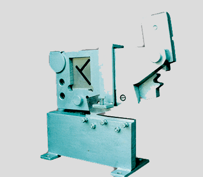 T AND ANGLE SHEARING MACHINE (GEARED TYPE)-HMP