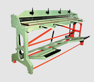 TREADLE GUILLOTINE SHEARING MACHINES-HMP