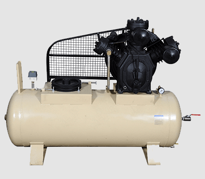 TWO STAGE THREE CYLINDER AIR COMPRESSORS-HMP