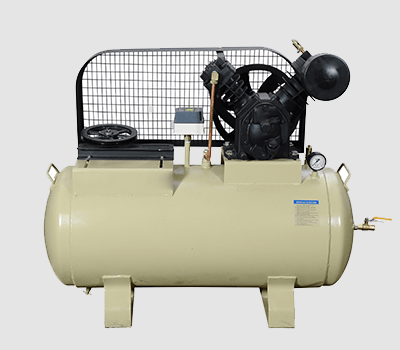 TWO STAGE TWO CYLINDER AIR COMPRESSORS-HMP